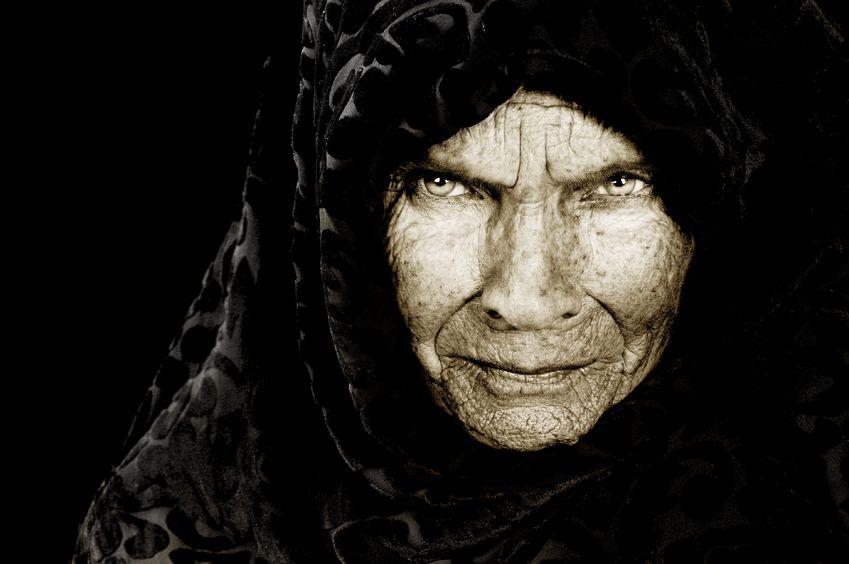 crotchety old woman